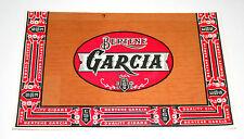 Lot of 2 Lg Bertene Garcia ESS Tobacco Cigar Box Label Unused NOS New 1940-50s