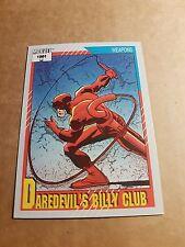 MARVEL UNIVERSE 1991 SERIES 2 CARD #129 DAREDEVIL'S BILLY CLUB