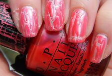 New OPI SHATTER Nail Polish Lacquer Crackle Texture Color Coat U PICK COLOR .5oz