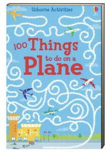 Usborne Puzzle Books Over 100 Things to Do on A Plane (Paperback) FREE ship$35