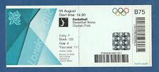 Orig.Ticket   Olympische Spiele LONDON 2012 / BASKETBALL   AUSTRALIEN - KANADA !