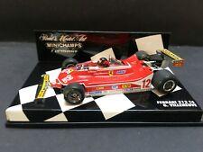 Minichamps - Gilles Villeneuve - Ferrari - 312T4 - 1:43 - 1979