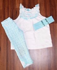 Girls - NAARTJIE - 3pc Tank Top Shirt Capris Pants & Headband Set Outfit M 5