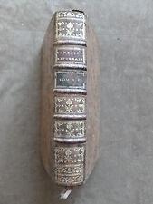 VARIETES LITTERAIRES. ARNAUD & SUARD. EO.1769.T.4.Opera.Shakespeare.Xenophon....