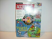 GT Personal Accounting & Essential Office *NEW* 2 CD-ROM PAK For Windows 3.0
