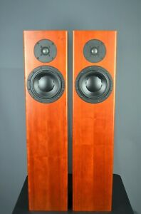 Totem Forest loudspeakers in Cherry finish. Worldwide shipping.