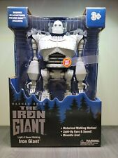 """The Iron Giant Walking Motion Light Up 15"""" Action Figure tested & works 201012Ws"""