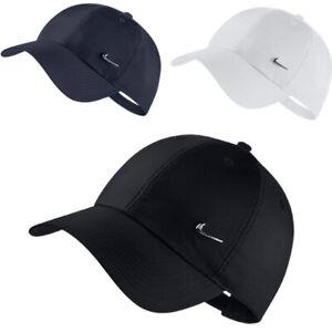 Nike Boys Baseball Cap Kids Heritage 86 Metal Swoosh Logo Caps Adjustable Hat