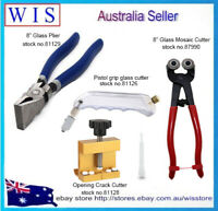 4/PK Mosaic and Stained Glass Cutting Tools Glass Cutter & Wheeled Cutter &Plier