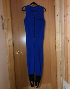 RARE 90s Vintage Patagonia Fleece Ski One Piece Suit Small Capeline Synchilla