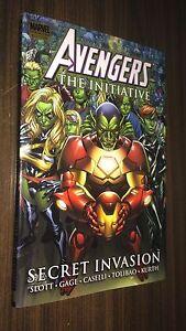 AVENGERS THE INITIATIVE Volume 3 Hardcover -- Secret Invasion -- OOP HC