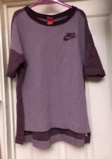 Nike Burgundy Mix Mens Top, Size XL - Lovely!