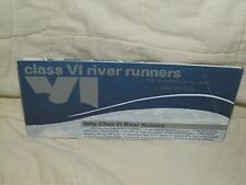 Circa 70's-80's Class VI River Runners Brochure-Lansing,WV-Penny Sale!