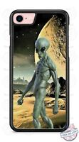 Alien Planet SciFi Extraterrestrial Phone Case for iPhone X 8 PLUS Samsung 9 etc