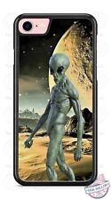 Alien Planet SciFi Extraterrestrial Phone Case for iPhone X 8 PLUS Samsung 9 etc