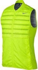 Nike Men's Aeroloft Golf Vest Gilet 801891-702 Volt Size L New