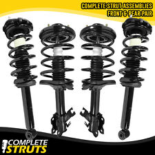 Complete Struts / Shocks & Coil Springs w/ Mounts Set for 02-03 Nissan Maxima x4