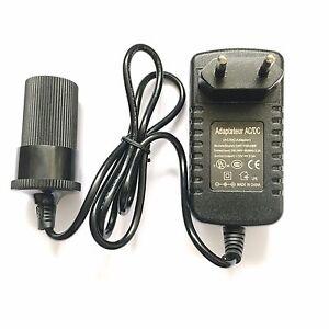 EU Plug AC - DC 12V 2A 24W Power Adapter Car Charger Cigarette Lighter Socket