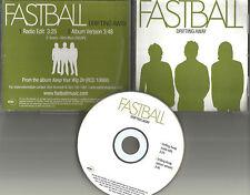 FASTBALL Drifting Away w/ RARE RADIO EDIT PROMO DJ CD single USA 2004 MINT