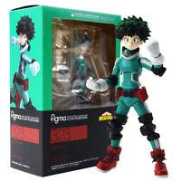 Anime Figma 323 My Hero Academia Izuku Midoriya PVC Figure Toy New In Box 14cm