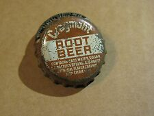 CRAGMONT ROOT BEER SODA CORK CAP Marlboro Beverage Co. SAN FRANCISCO CALIFORNIA