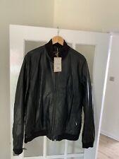Pretty Green Rider Leather Jacket XXL