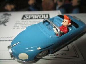 Franquin&Pixi-Spirou dans sa turbotraction-Certificat-1000 exemplaires-1990