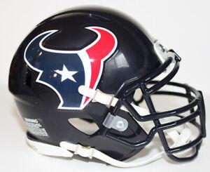JJ Watt Houston Texans Riddell Custom Mini Helmet w/ Metal Face Mask
