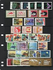 China stamps mnh 2 scans, 4 scans used