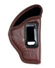 NEW BROWN IWB Soft Leather Holster Houston - You'll Forget It's On! Choose Model
