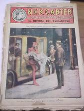 """FUMETTO """" NICK CARTER IL GRAN POLIZIOTTO AMERICANO 1930 FASCICOLO 116 IK-11-174"""