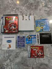Pokemon Ruby Nintendo Game Boy Advance Box & Inserts Only