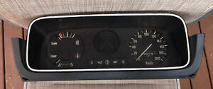 FORD 1970's MARK 2 ESCORT GENUINT INSTRUMENT CLUSTER & SURROUND!! 75AB-10B885-AA