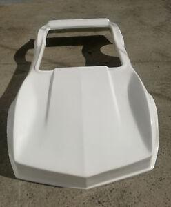 3/4 Scale Chevrolet Corvette Sting Ray Twin Seat Mini Hotrod Car Fiberglass Body