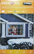 Total Home Window FX Plus Christmas Halloween Projector 16 Videos New!