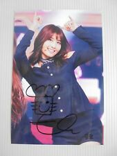 Twice Momo 4x6 Photo Korean autograph signed USA Seller 16 KPOP
