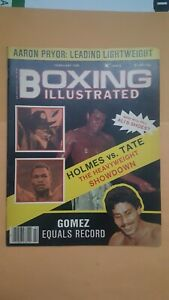 Boxing Illustrated Magazine. Feb. 1980. Ali, Holmes, Wilfredo Gomez, Aaron Pryor