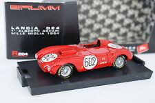 Brumm 1/43 - Lancia D24 Ascari 1ª Mille Miglia 1954 R204