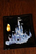 Vintage Walt Disney World Productions Tip Tray  Key Tray Coin Smoked Glass