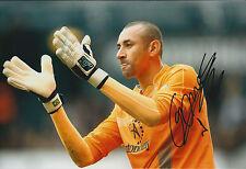 Heurelho GOMES Signed Autograph 12x8 Photo AFTAL COA PSV BRAZIL Goalkeeper