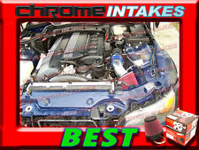 K&N+BLUE RED 95-98 99 BMW M3 3.0 3.0L/3.2 3.2L I6 E36 AIR INTAKE INDUCTION KIT