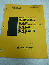 Mitsubishi S4E, S4E2, S4E2-T Parts Manual