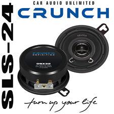 Crunch DSX32 8,8 cm 88mm 2 Wege KOAXIAL Lautsprecher System Car Speaker Boxen