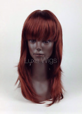 Luxe Wigs - Premium Quality Mannequin Display Wig w/ Full Bangs - Ally #33/130Tl