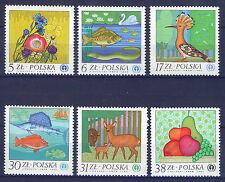 POLONIA/POLAND 1983 MNH SC.2556/2560 UN Environment Conference