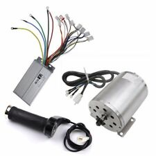 48V 1800W Motor Brushless Controller Speed Control + Throttle Handle Grip E-bike