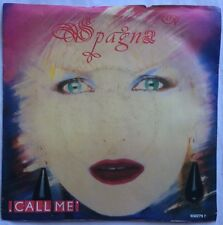 """Spagna - Call Me - CBS Records Picture Sleeve 7"""" Single 650279 7 VG+"""