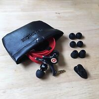 Beats by Dr .Dre Tour  In-Ear Headphones with Remote & Mic for iPhone5/6/7  Red