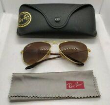 Ray Ban Aviator Brown lenses  Golden frames rj9506s sunglasses 50 lens