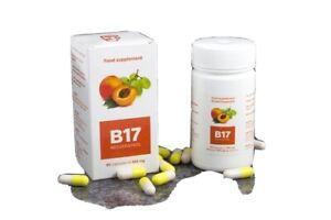 Vitamin B17 Organic Apricot Kernels Capsules 350mg 100% Vegan  supplement